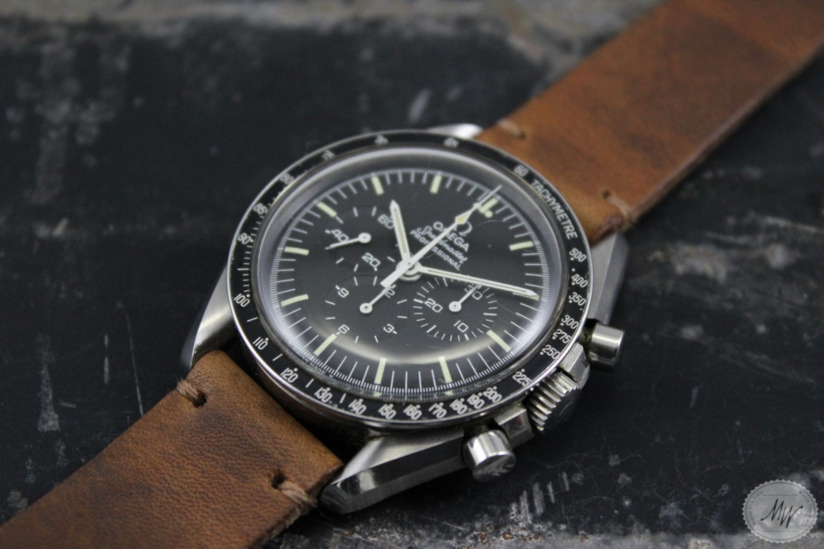 Omega Leather Watch Strap >> -SOLD- Omega Speedmaster Professional Ref. 145.022 from 1978 › Watch Old Times