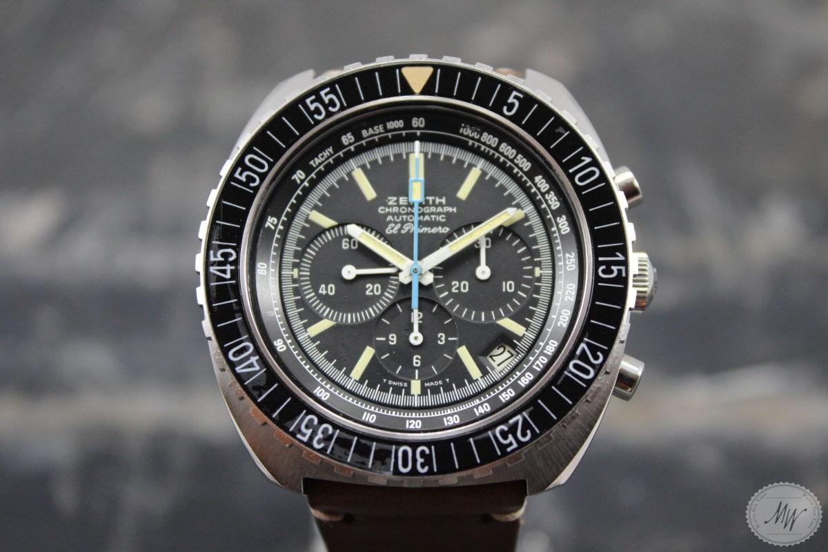 Zenith El Primero Sub Sea Pilot Ref 01 0190 415 From The